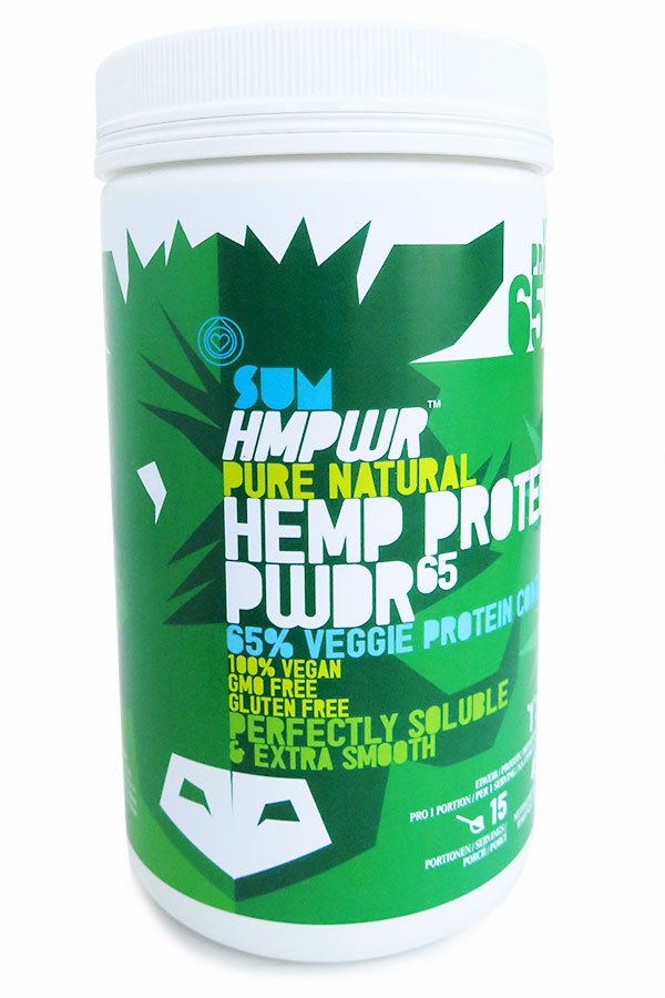 SUM HMPWR PURE NATURAL HEMP PROTEIN PWDR 65
